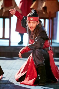 Taehyung as Hansung in Hwarang <3