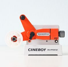 vintage toy projector | schongerfilm cineboy super 8