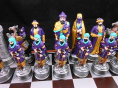 Saladin Chess Set - this set is also available versus the Crusaders