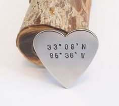 Navigation GPS Coordinates Gift for Men Navigational Wallet Insert North East South West Longitude and Latitude Jewelry Custom Where We Met Customized Gifts, Personalized Gifts, Cool Gifts, Unique Gifts, Unique Valentines Day Gifts, Thing 1, Last Minute Gifts, Handmade Wedding, Note Cards