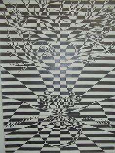 op art Ambiguous