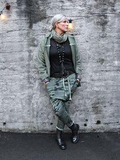 Style Inspo by Bohem January 2018, Military Jacket, Harem Pants, Bomber Jacket, Winter Jackets, Fashion Outfits, Green, Age, Winter Coats