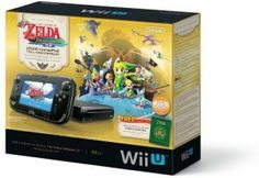the legend of zelda the windwaker (hd deluxe set) It's an entirely new system that will change the way you experience entertainment. For the first time, experience your favorite Nintendo worlds in crystal clear high definition. The New Wii U GamePad controller removes the traditional barriers between you, your games, and your TV by creating a second window into the video game world.