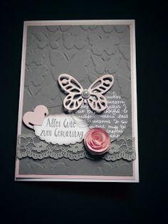 Kreativ am Deich : ....Schmetterlinge .....noch einmal...