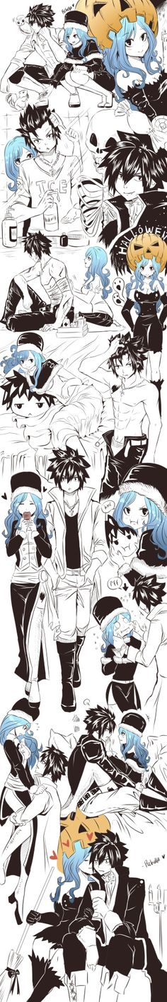rchella: A few bunch of gruvia october edition !! A Little Hallowen Theme