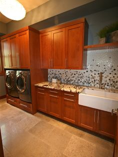 Laundry Room Backsplash Design, Pictures, Remodel, Decor and Ideas - page 3