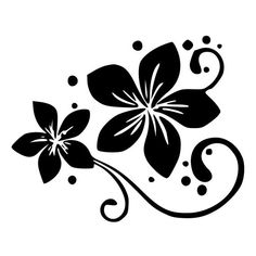 Make your car unique with our Plumeria Flower With Swirls And Dots decals. This plumeria flower with swirls and dots sticker is a single color vinyl cut out that is very easy to apply and will last up to 5 years in both hot and cold climates. Stencil Patterns, Stencil Art, Stencil Designs, Craft Patterns, Flower Stencils, Stenciling, Silhouette Design, Flower Silhouette, Plumeria Flowers