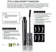 This is the BEST Mascara! I see a huge difference in my lashes!! HollyHan.arbonne.com