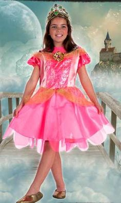 Disfraz de Princesa Broche infantil