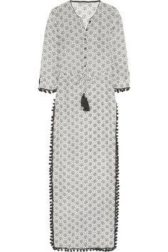 Talitha - Jaya silk and cotton-blend voile maxi dress My Life Style, My Style, I Love Fashion, Fashion Design, Jeans Dress, Frame Denim, Designer Dresses, Ideias Fashion, Short Sleeve Dresses