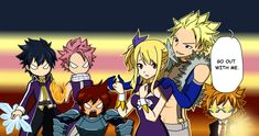 Hahaha look at there faces! Also Lucy could go with Laxus