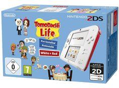 on aime NINTENDO 2DS + Tomodachi Life Rouge (2204932) chez Media Markt
