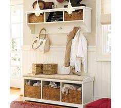 Garderobe selber bauen - Ideen und Anleitungen für jeder, der Lust dazu hat