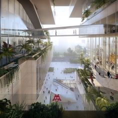 Gallery of Coldefy Associés and ECADI Win Competition for New Bao'an Cultural Center in Shenzhen - 1
