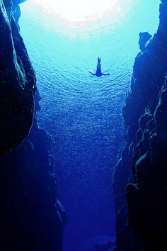 Diving in Iceland! One of the best freshwater diving spots in the world!