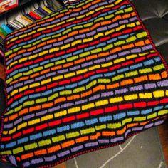 Brick Crochet Afghan Pattern