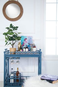 How to Style Your Bar Cart Like a Designer | Architectural Digest