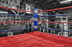Austin, Texas – Lord's Gym - Boxing Ring - HDR Photo by Talke Photography | #Photography #TalkePhotography #Texas #BoxingRing #HDR