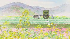 Kaguya Hime - Princess Kaguya by Isao Takahata - Ghibli Totoro, Isao Takahata, Beautiful Film, Art Japonais, Film D'animation, Fantasy Movies, Fantasy Fiction, Hayao Miyazaki, Conte