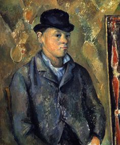 Paul Cézanne ~ Portrait of Paul Cézanne's son, 1888-90.