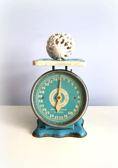 Cute scale! (On my vintage treasure-hunting list!)