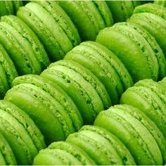 pistachio macaroons   #CruiseInChartreuse
