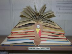 Image result for thanksgiving library displays