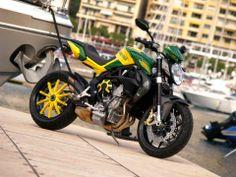 """Racing Cafè: MV Agusta Brutale """"Virginio Ferrari"""" by Alkadesign..."""