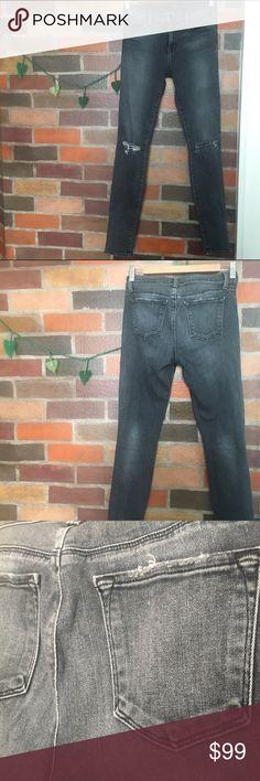 J Brand Super Skinny Jean in Nemesis J Brand Super Skinny Jeans in Nemesis wash. Excellent used condition. Sorry, no trades. J Brand Jeans Skinny