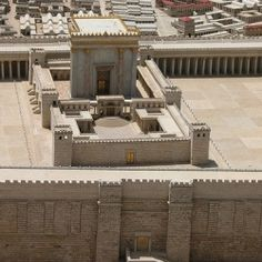 The Jewish Second Temple (Hebrew: הַבַּיִת הַשֵּׁנִי) was an important shrine which stood in Jerusalem between 516 BCE and 70 CE. It replaced Solomon's Temple which was destroyed in 586 BCE when the Jewish nation was exiled to Babylon. Temple In Jerusalem, Jewish Temple, Jerusalem Israel, Francis Chan, Eilat, Tel Aviv, Cave Of The Patriarchs, Holy Monday, Third Temple