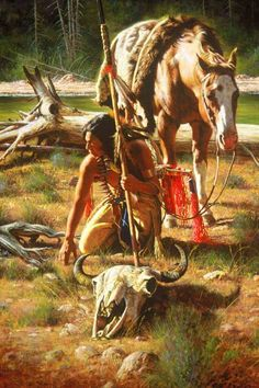 ✿ Tittle: Land of the Buffalo ~ Artist Alfredo Rodriguez ✿