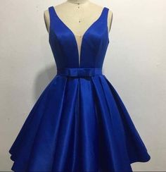 Elegant Homecoming Dress,Royal Blue Homecoming Dresses, Short Prom Gown from fashiondresseess Royal Blue Homecoming Dresses, Royal Blue Dresses, Hoco Dresses, Formal Dresses, Royal Blue Short Dress, Royal Blue High Heels, Party Dresses, Dress Outfits, Evening Dresses