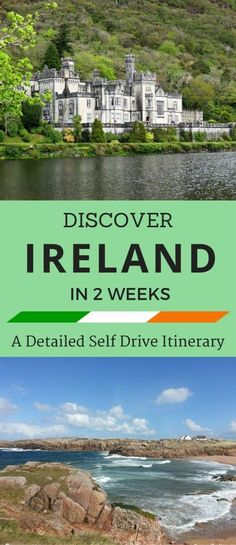 Discover Ireland in Two Weeks - A Detailed Self Drive Itinerary Travel Oh The Places You'll Go, Places To Travel, Travel Destinations, Places To Visit, Scotland Travel, Ireland Travel, Dublin Travel, Galway Ireland, Cork Ireland