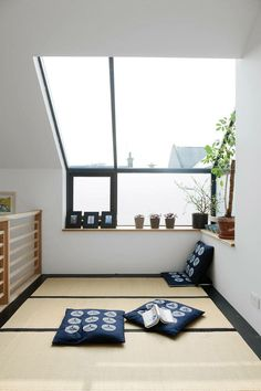 Japanese House Living Room In Traditional And Modern Style Use J