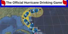 Florida hurricane drinking game