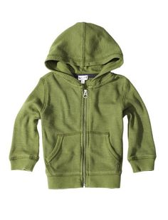 On-trend army green 	Classic hoodie comprised of the softest thermal around 	Perfect for transition seasons