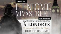 Grand Jeu Concours: l'Enigme Vivastreet