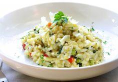 Risotto alla parmigiana con verdure