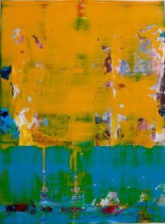 "Saatchi Art Artist Nestor Toro; Painting, ""Scattering Particles (Organic)"" #art"