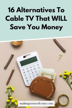 16 Alternatives To Cable TV That WILL Save You Money Save Your Money, Ways To Save Money, Make More Money, Extra Money, Saving Ideas, Money Saving Tips, Watch Tv Without Cable, Money Change, Starting Your Own Business