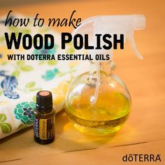 Bring back the shine to your favorite tables, countertops, floors, and more with this simple recipe for homemade wood polish with essential oils.