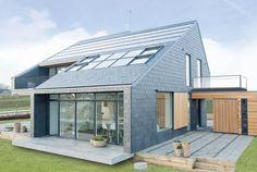 Une maison qui privilégie les économies d'énergie   #inspiration