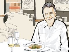 Lunch with Michael Palin