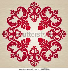 Vector ornate ornament in ethnic style. Element for design. It can be used for decorating of invitations, greeting cards, decoration for bags and clothes, at tattoo creation.