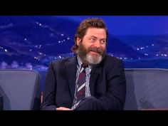 Nick Offerman. The more I learn about him the more I love him...but that laugh is the best thing ever.