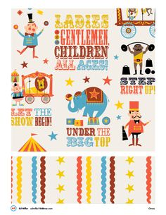 Circus by Ed Miller Design