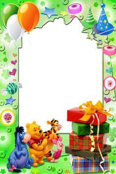 Gratis utskrivbara födelsedagskort till barn Happy Birthday Wishes Photos, Birthday Wishes For Kids, Happy Birthday Messages, Happy Birthday Quotes, Birthday Presents, Birthday Photo Frame, Happy Birthday Frame, Birthday Frames, Birthday Board