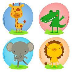 幼儿园,Cute Animals Giraffe, Crocodile, Mouse, Lion, Whimsical Illustration, How to Draw Cute Cartoon Characters , kawaii, cute, adorable, girl crafts, drawing, sketch kids crafts printable kids activities, tutorials, printables, print crafts, paper crafts