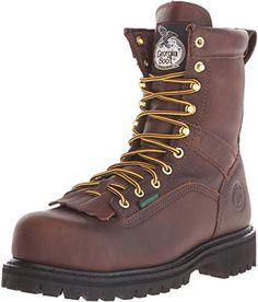 Georgia Boot Drill Dog Steel Toe Metatarsal Work Boot