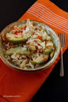 Russian Salted Cabbage with Carrots, Garlic & Apples: Russian Recipes Revisited